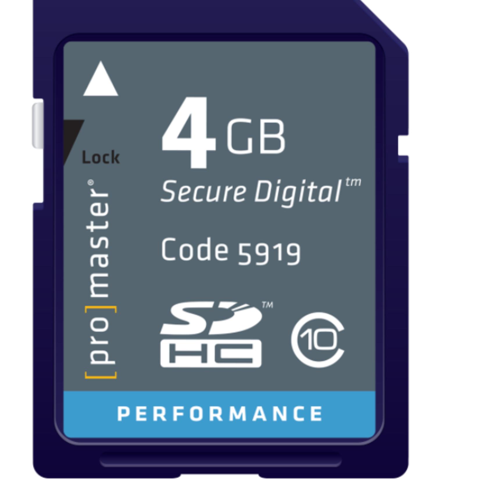 ProMaster ProMaster 4GB SD