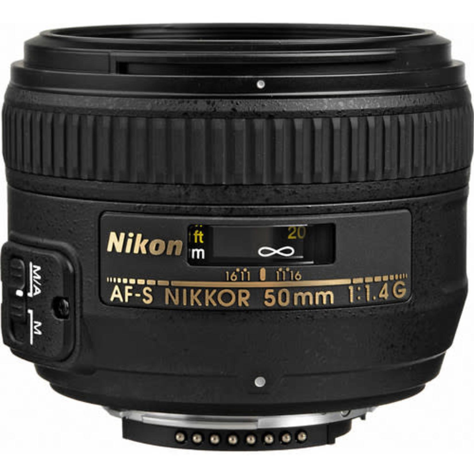 Nikon Nikon AF-S NIKKOR 50mm f/1.4G Lens
