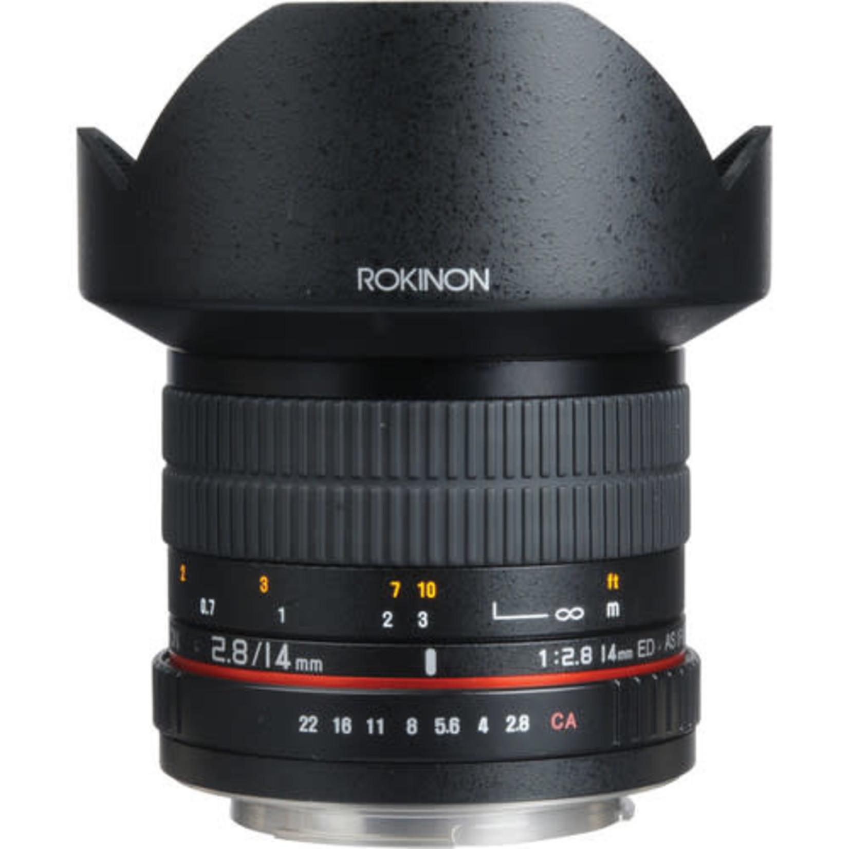 Rokinon Rokinon 14mm f/2.8 IF ED UMC Lens For Canon EF