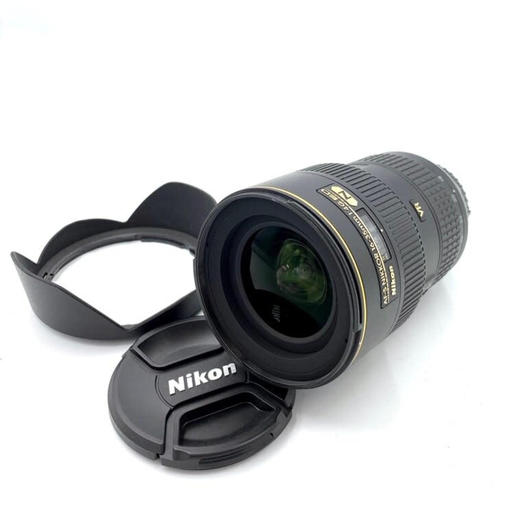 Nikon Used Nikon 16-35mm F4 VR