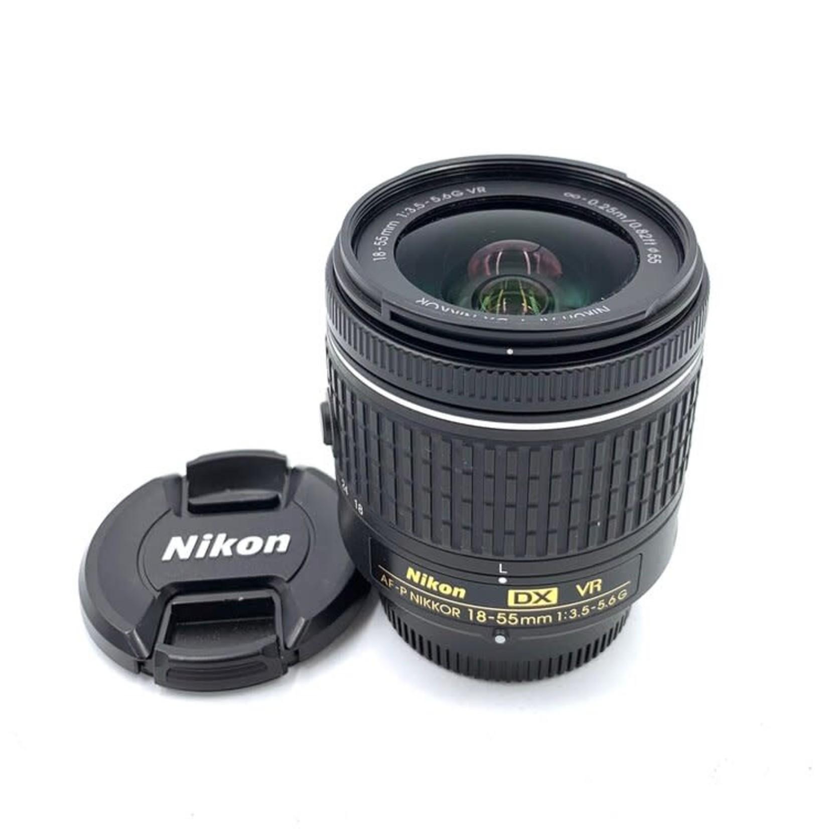 Used Nikon AF-P 18-55mm DX
