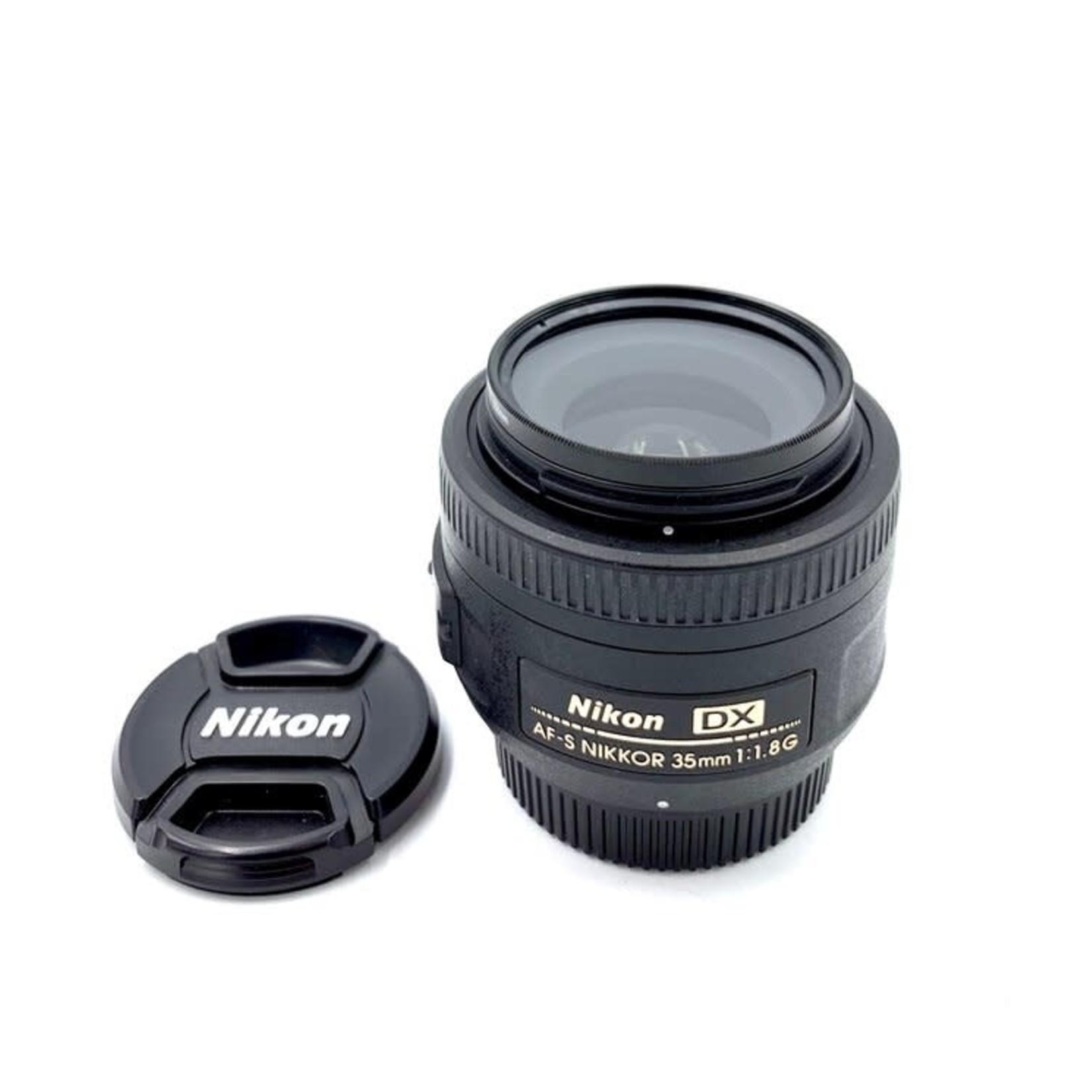 Nikon Used Nikon 35mm F1.8 DX