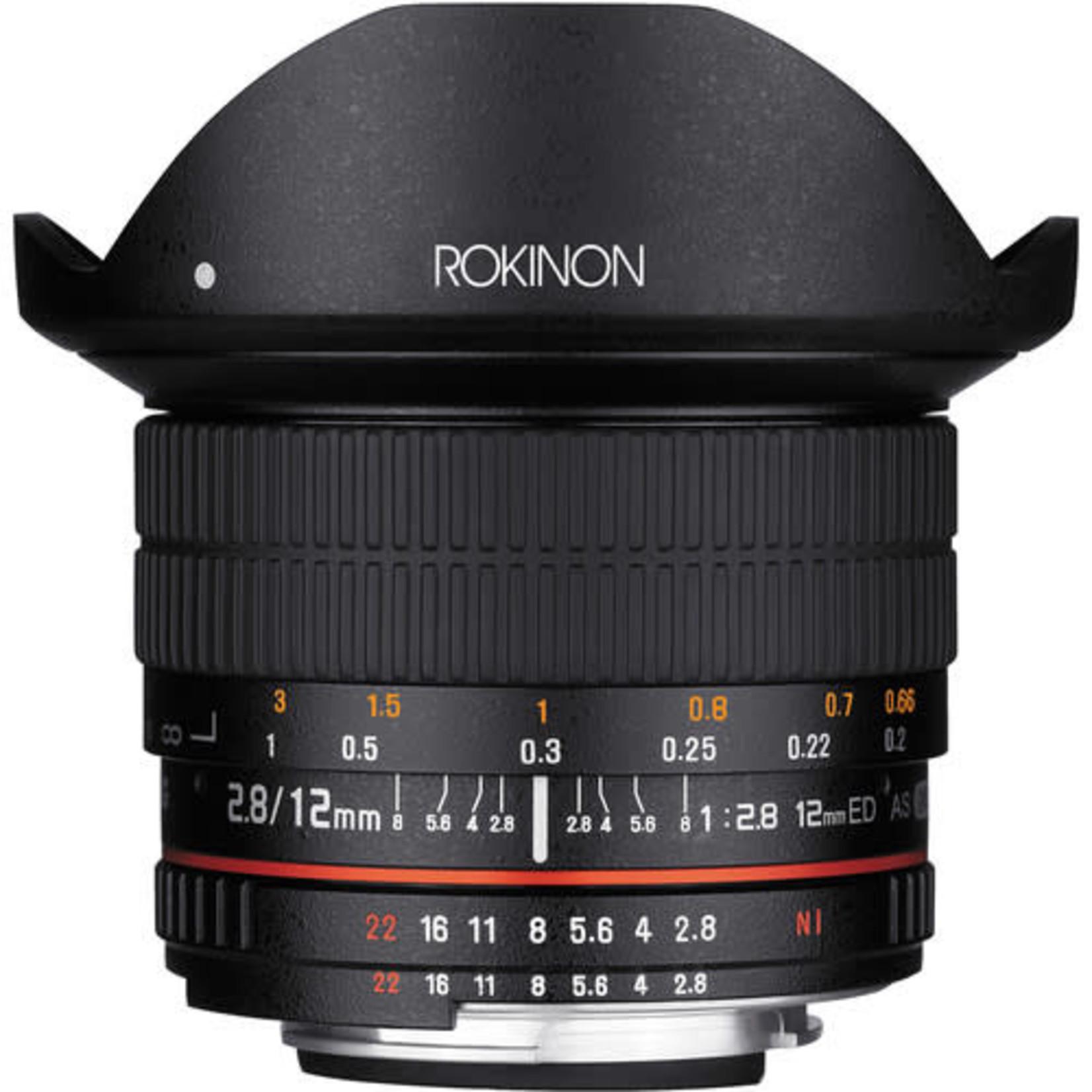 Rokinon Rokinon 12mm f/2.8 Ed AS IF NCS Lens for Nikon