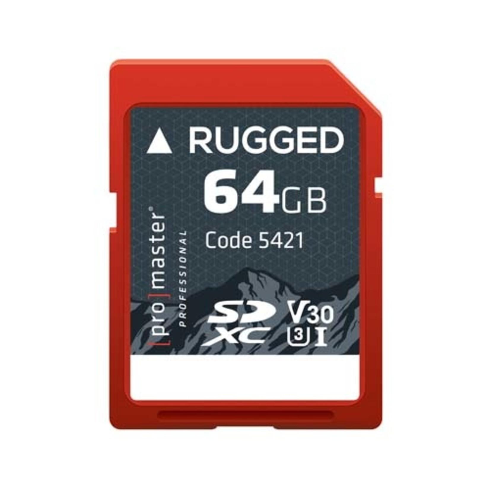 ProMaster ProMaster Rugged 64 GGB SD Card