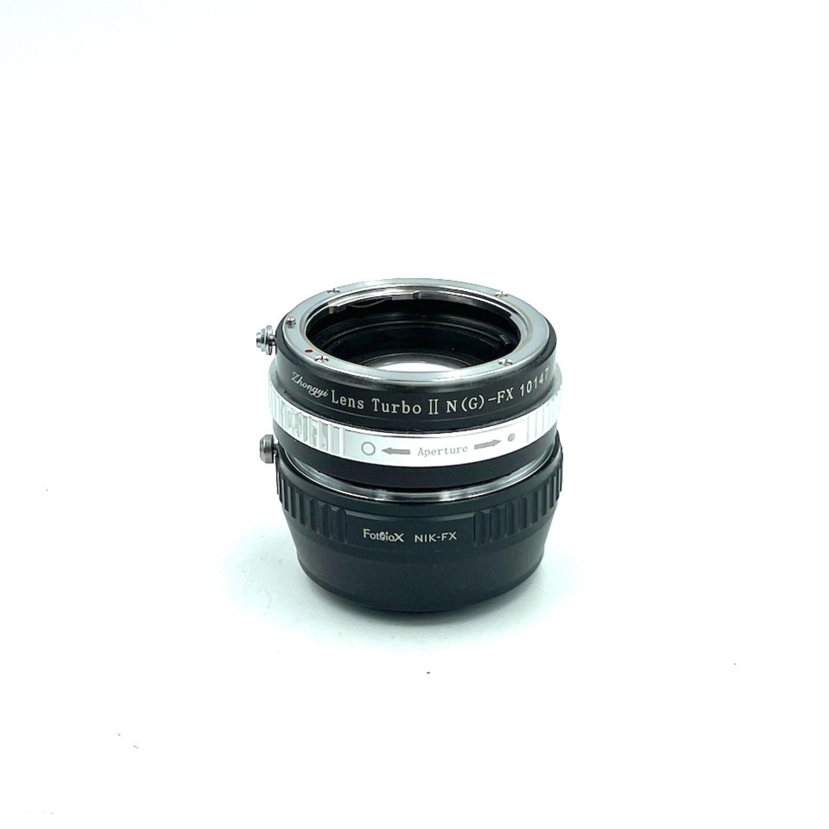 Used Nikon F to XF Adapters