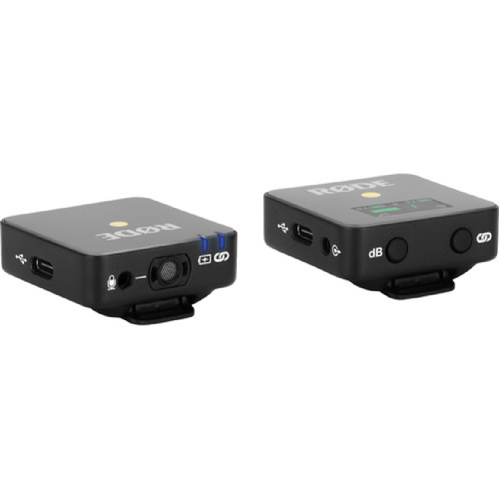 Rode Rode Wireless GO Compact Digital Wireless Microphone System (2.4 GHz, Black)