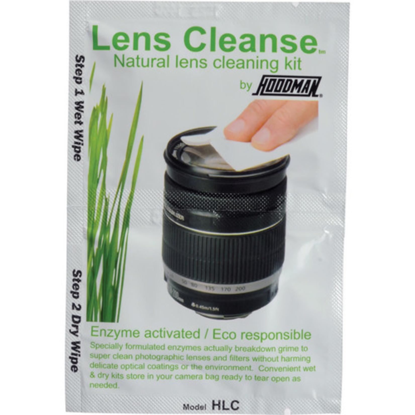Hoodman Hoodman Lens Cleanse Natural Lens Cleaning Kit (12 Pack)