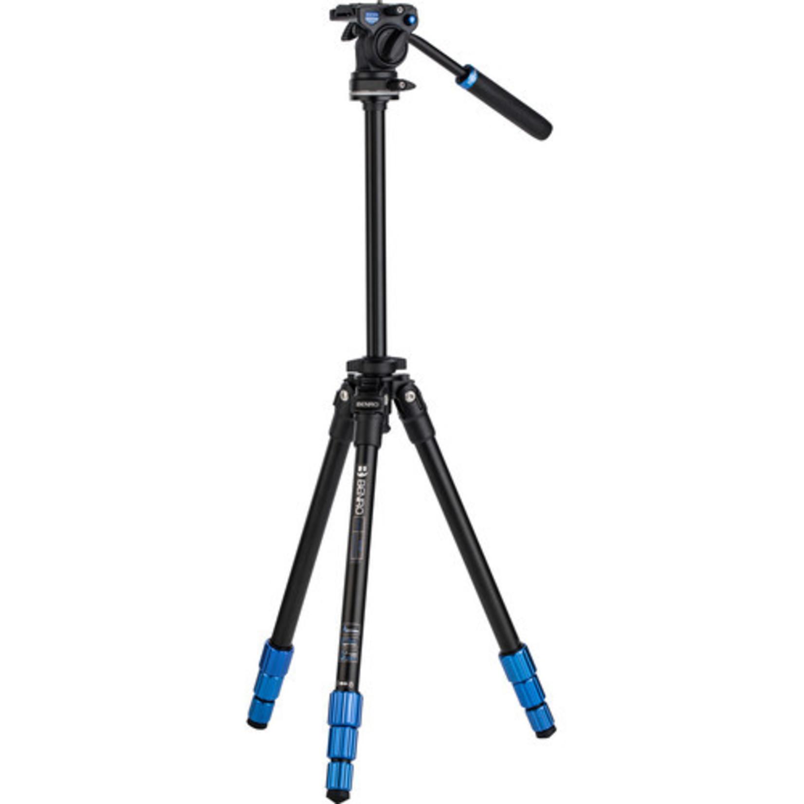 Benro Benro SLIM Video Tripod Kit (Aluminum)