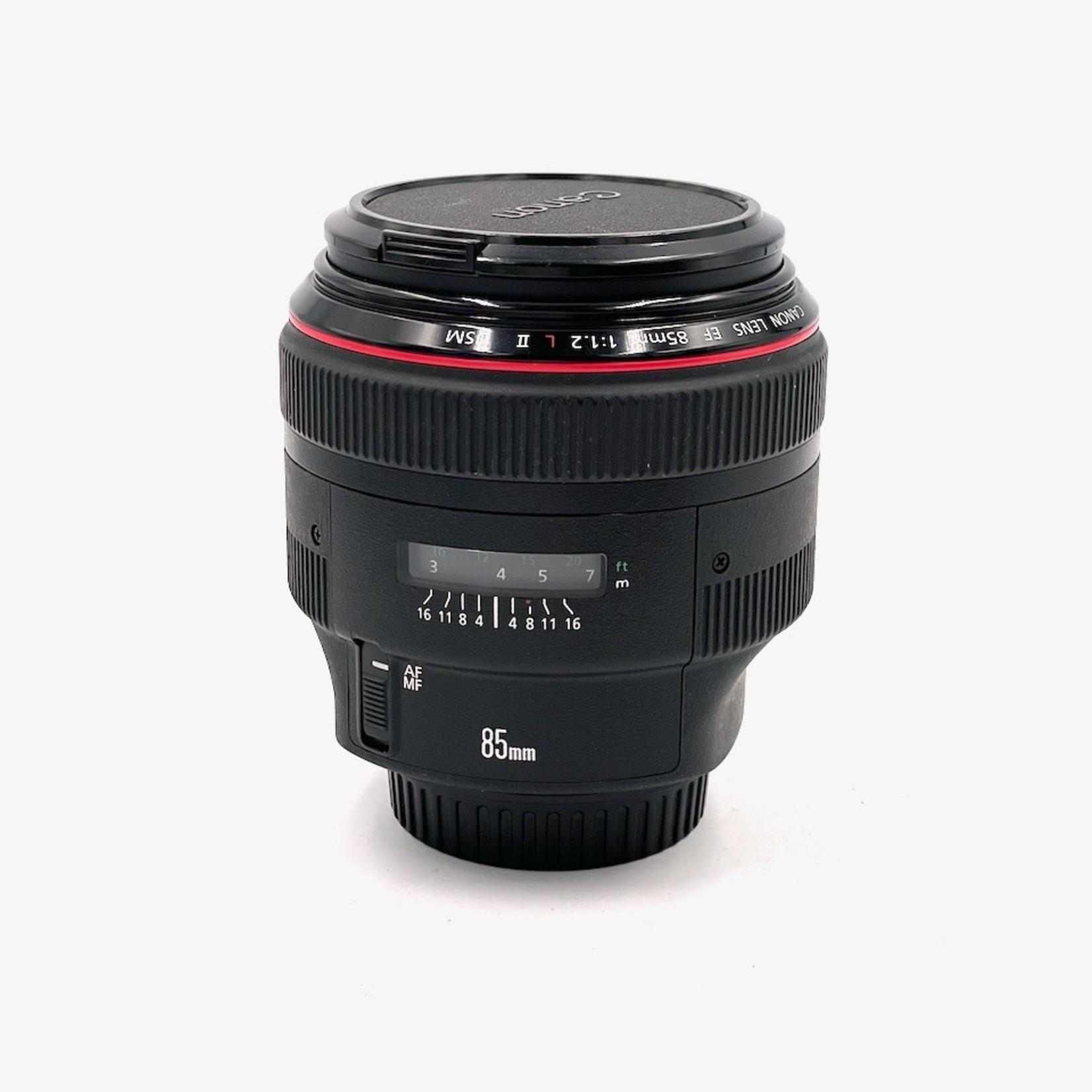 Canon Used Canon 85mm f/1.2 L II