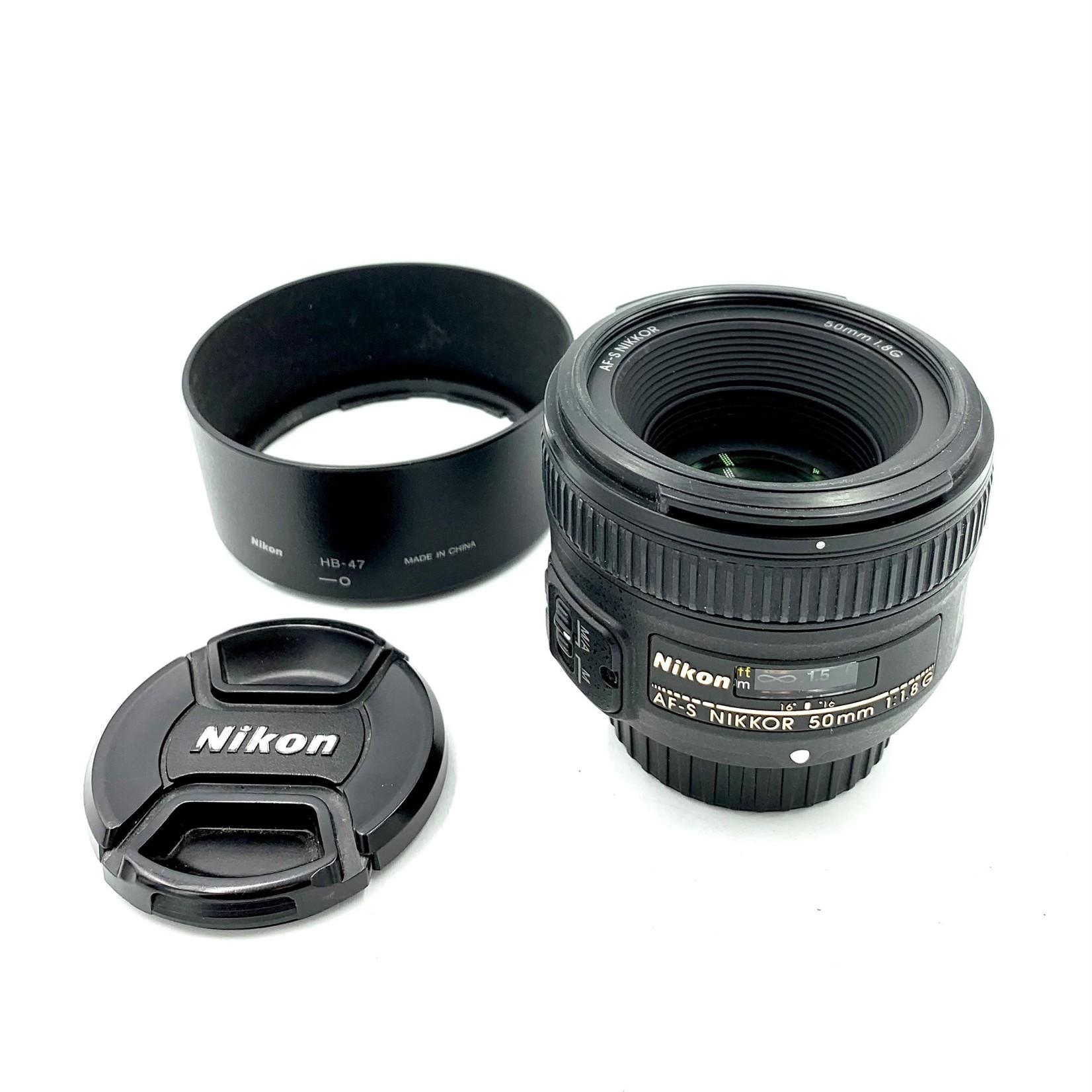 Nikon USED Nikon AF-S 50mm f/1.8 G