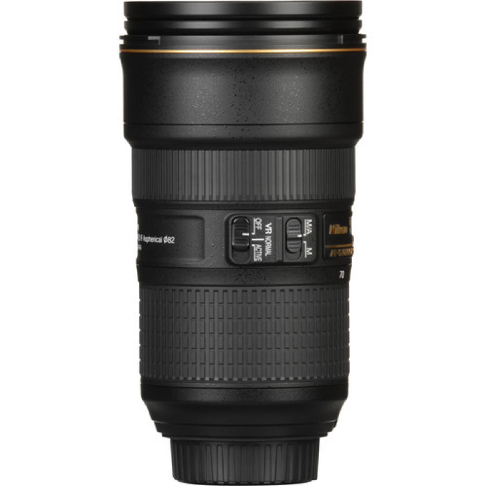 Nikon Nikon AF-S NIKKOR 24-70mm f/2.8E ED VR Lens