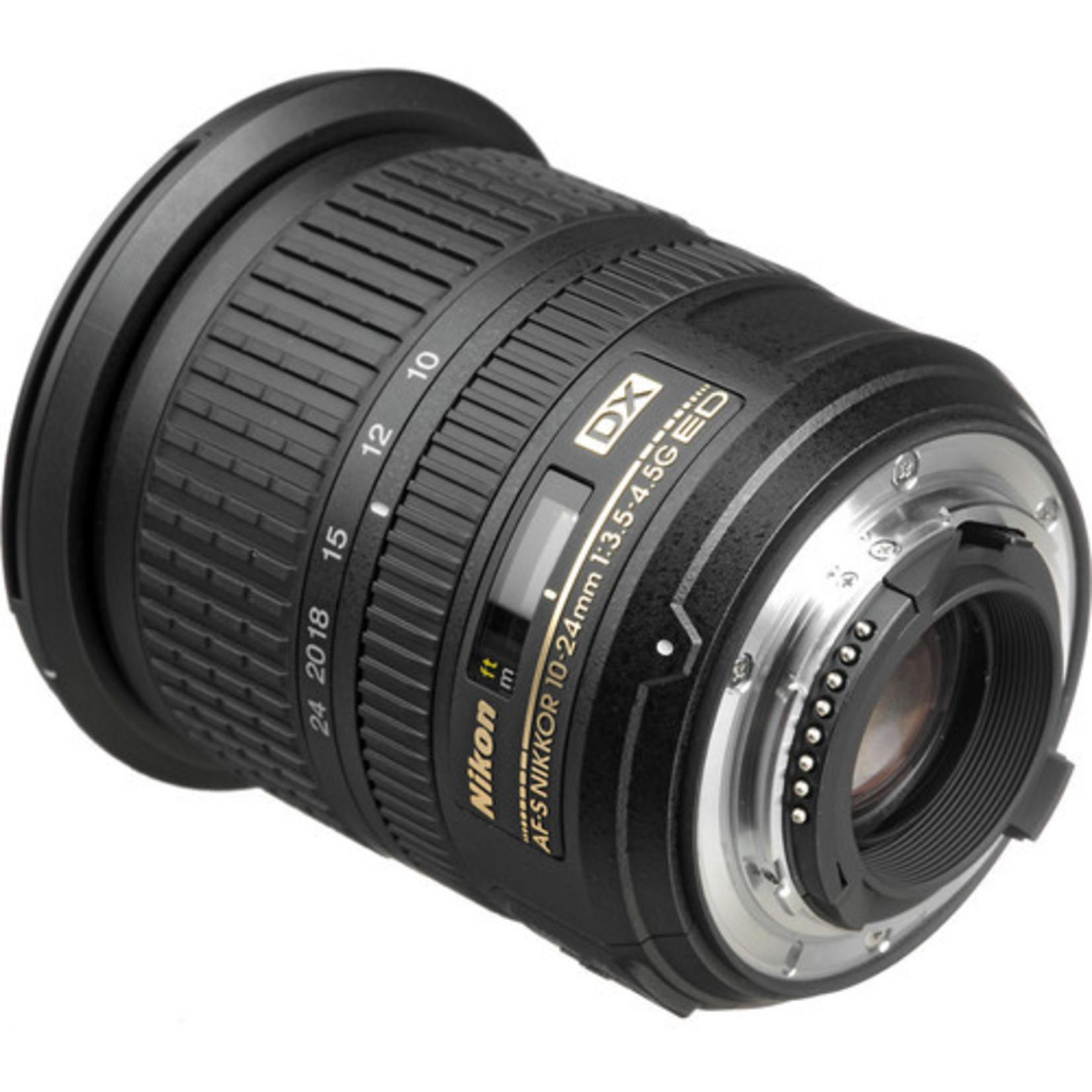 Nikon Nikon AF-S DX NIKKOR 10-24mm f/3.5-4.5G ED Lens