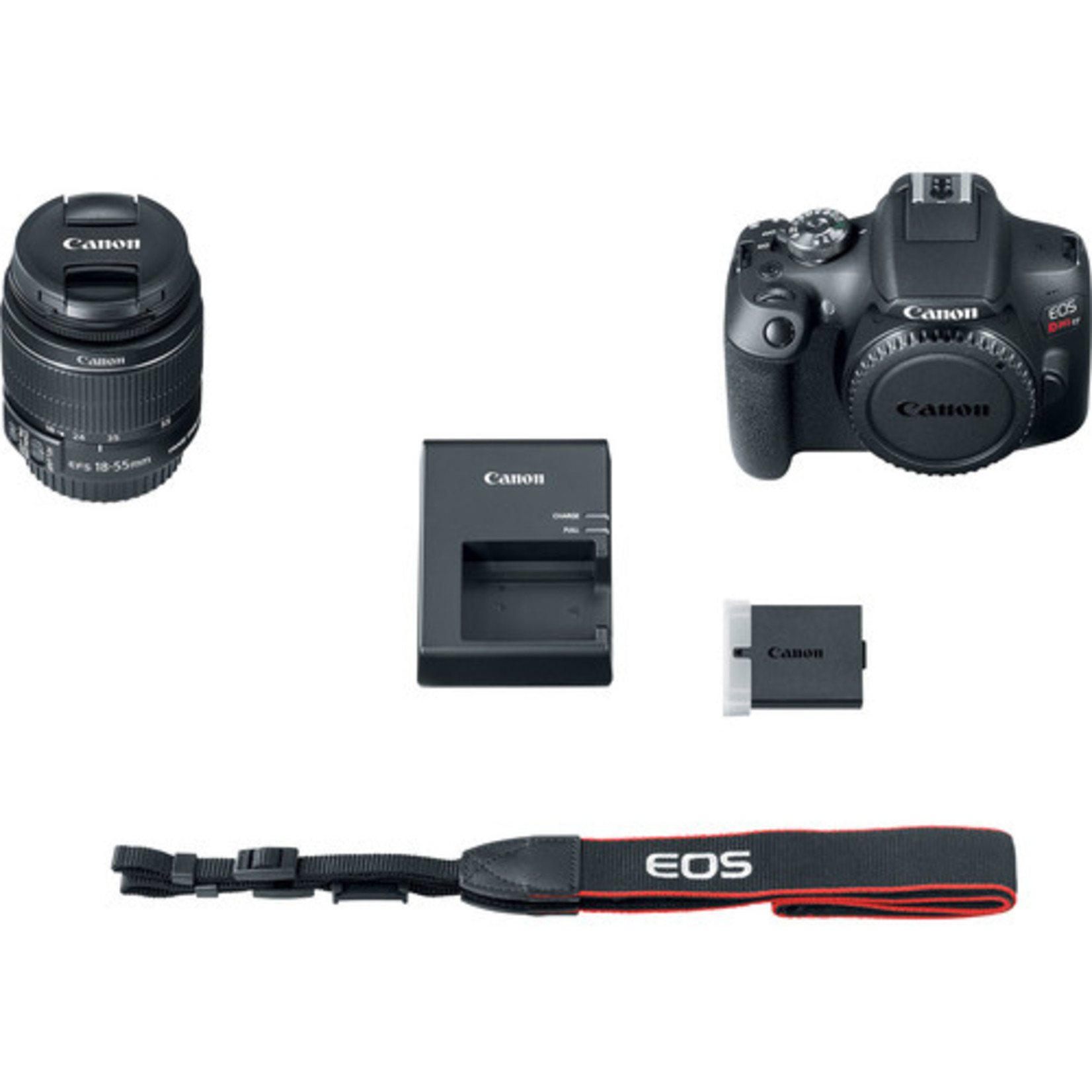 Canon Canon EOS Rebel T7 DSLR Camera with 18-55mm Lens