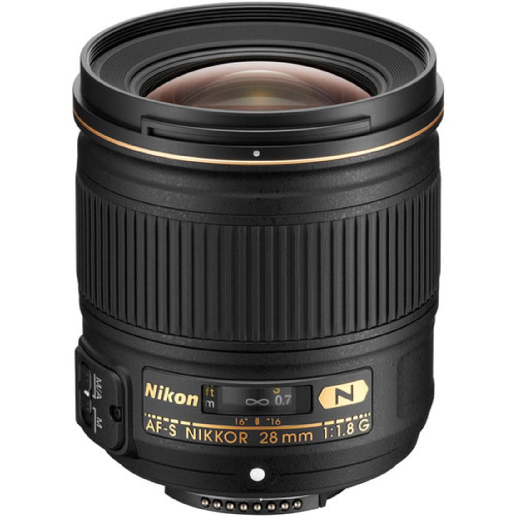 Nikon Nikon AF-S Nikkor 28mm f/1.8 G Lens