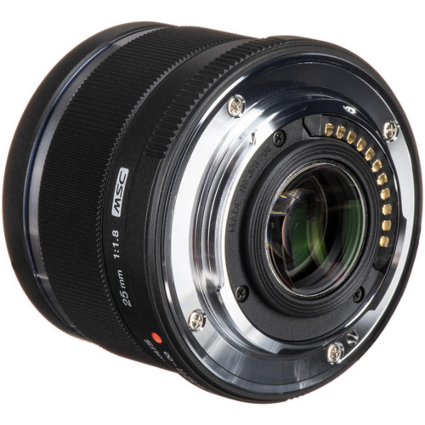 Olympus Olympus M.Zuiko Digital 25mm f/1.8 Lens (Black)