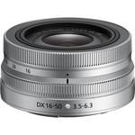 Nikon NIKKOR Z DX 16-50mm f/3.5-6.3 VR- Silver