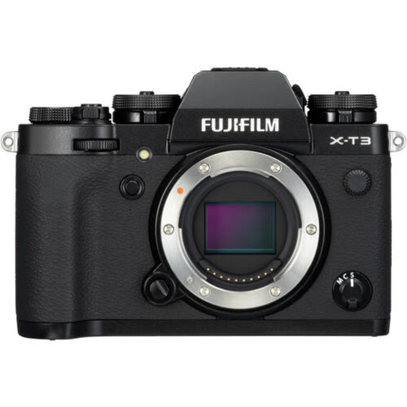 FujiFilm FUJIFILM X-T3 WW Mirrorless Digital Camera (Body Only, Black)
