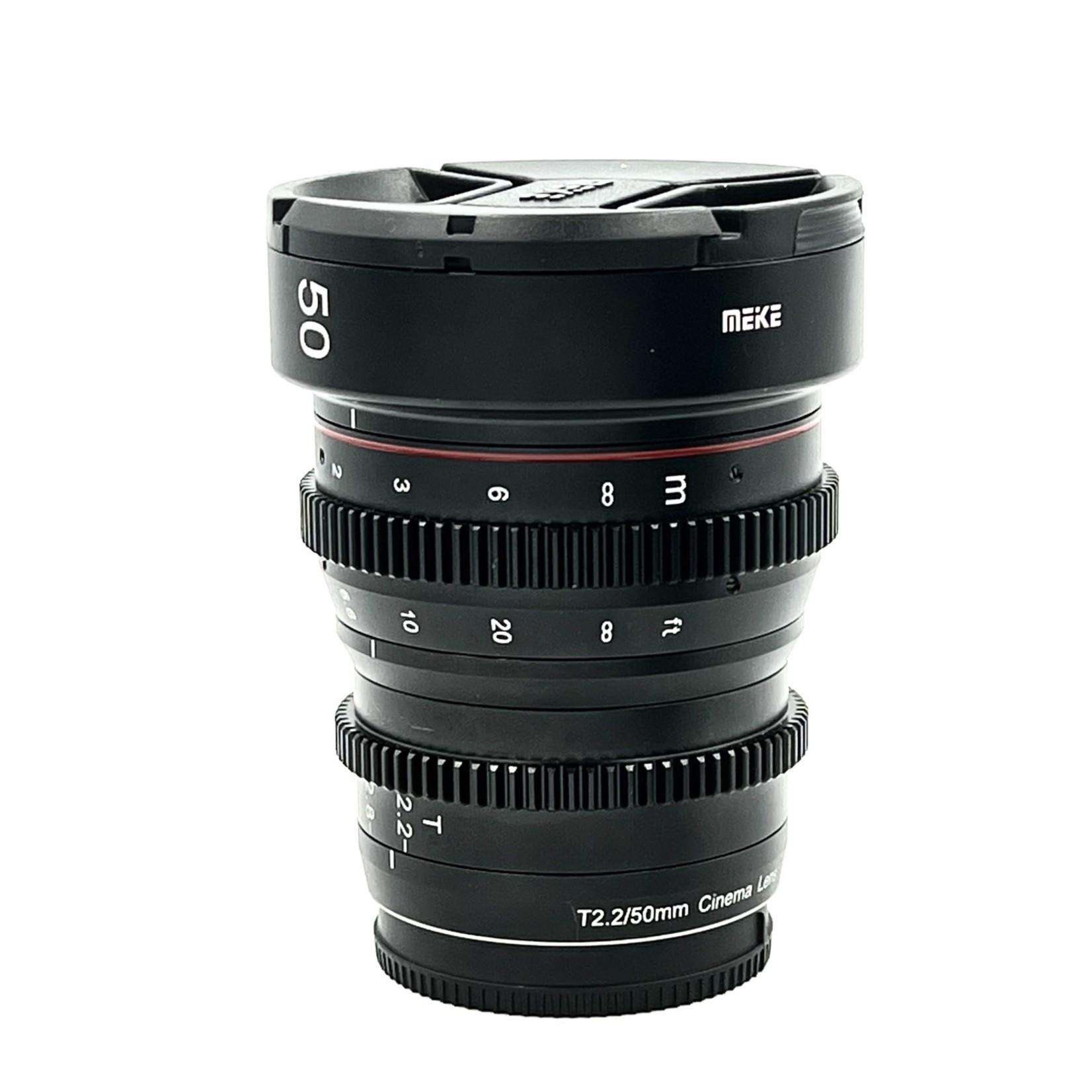 Panasonic Meike 50mm T2.2
