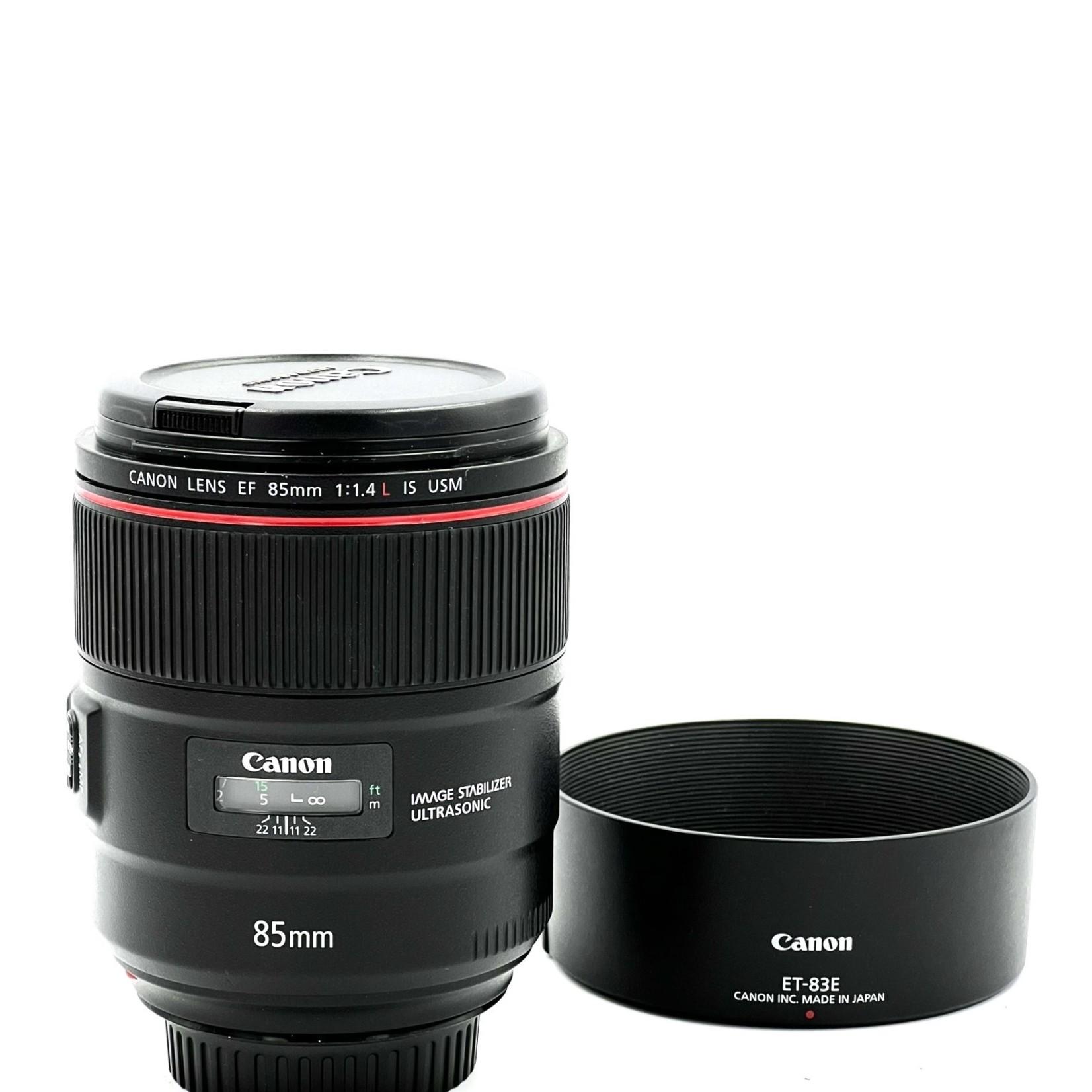Canon Used Canon 85mm F1.4L