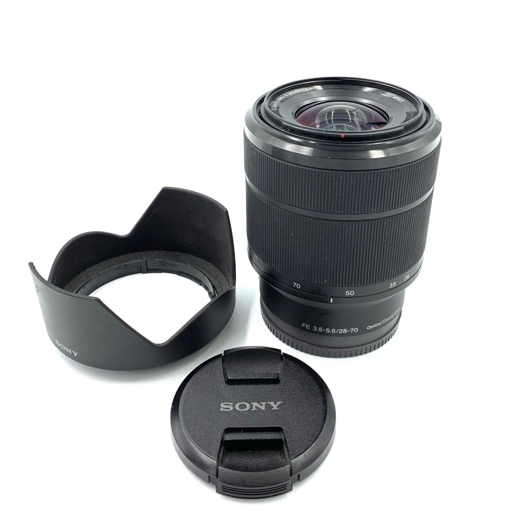Sony USED Sony FE 28-70mm f/3.5-5.6 Lens