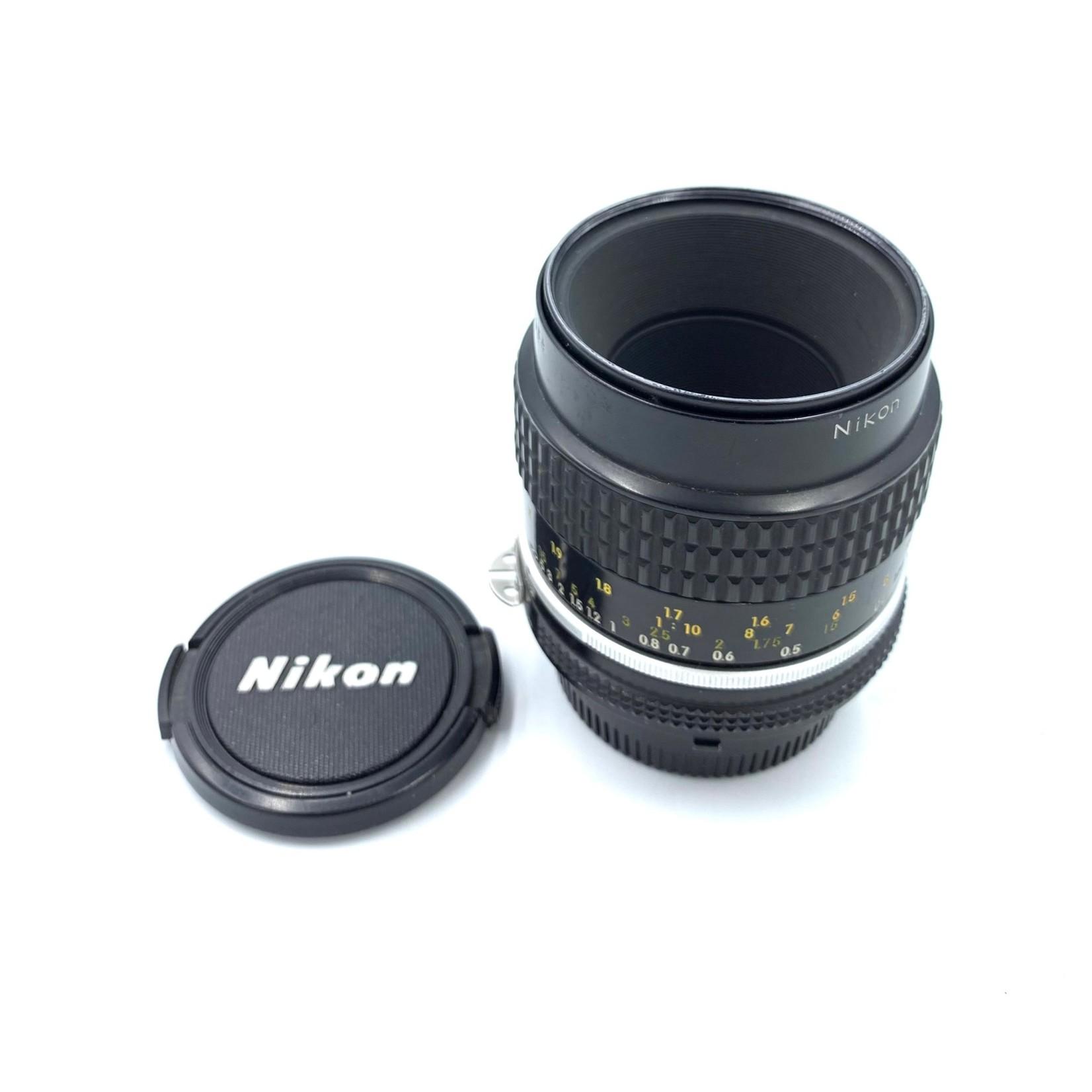 Nikon USED Nikon Micro 55mm f/2.8 AI-s Lens