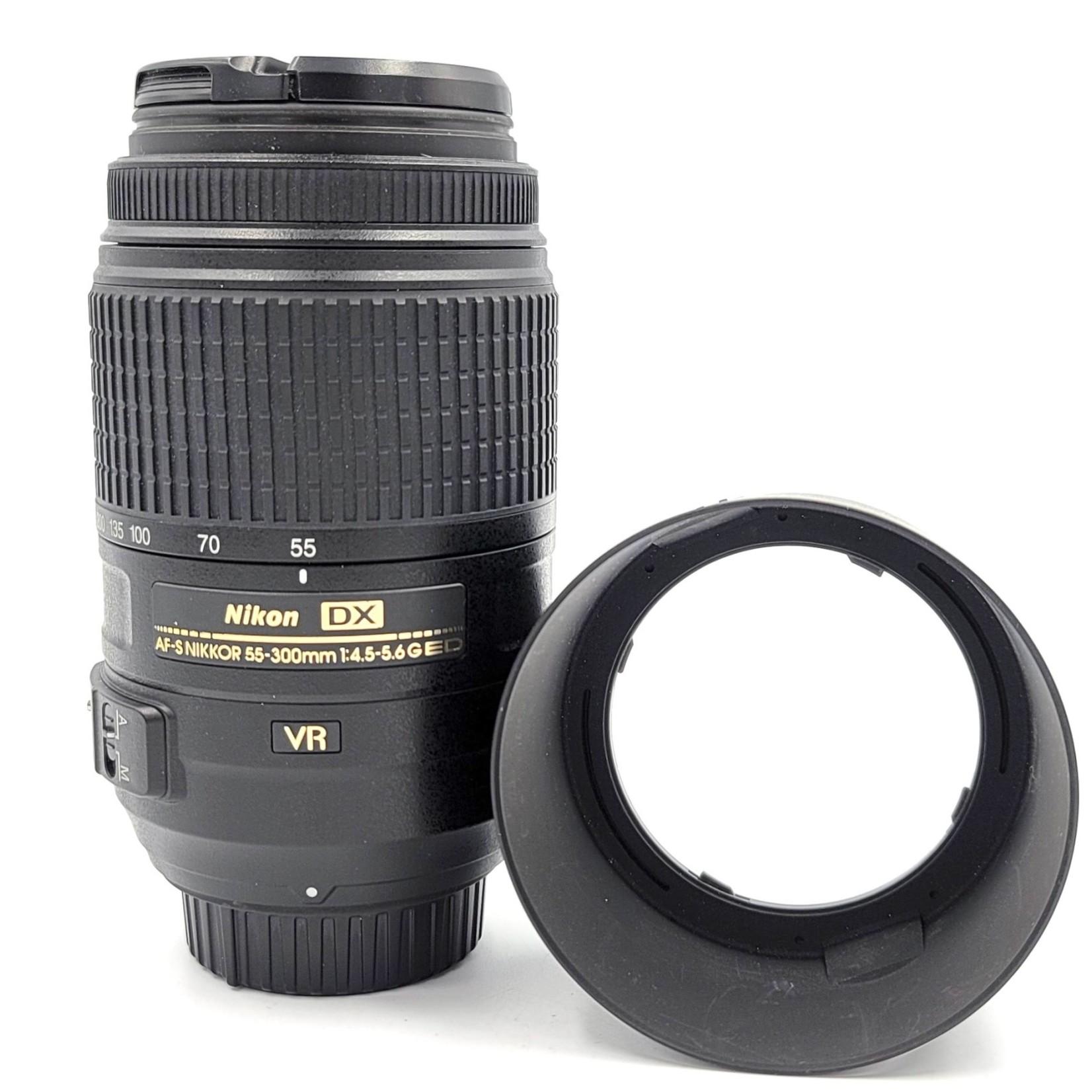 Nikon #1080 USED Nikon DX 55-300mm f/4.5-5.6  VR G ED Lens