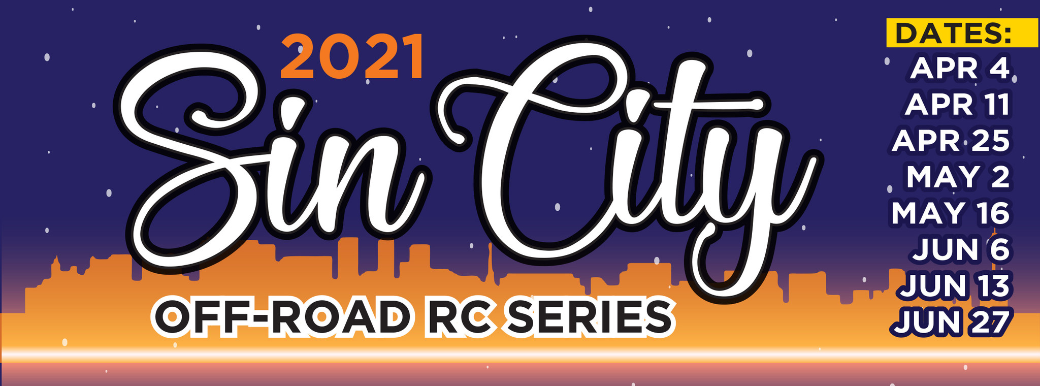Sin City Off-Road Series #3 - 2021 – Series Results