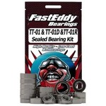 FastEddy FastEddy Tamiya TT-01 Chassis Sealed Bearing Kit