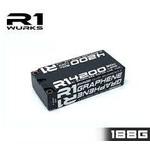 R1 Wurks R1 4200mah 50C 7.6V 2S LIHV Enhanced Graphene Shorty Battery