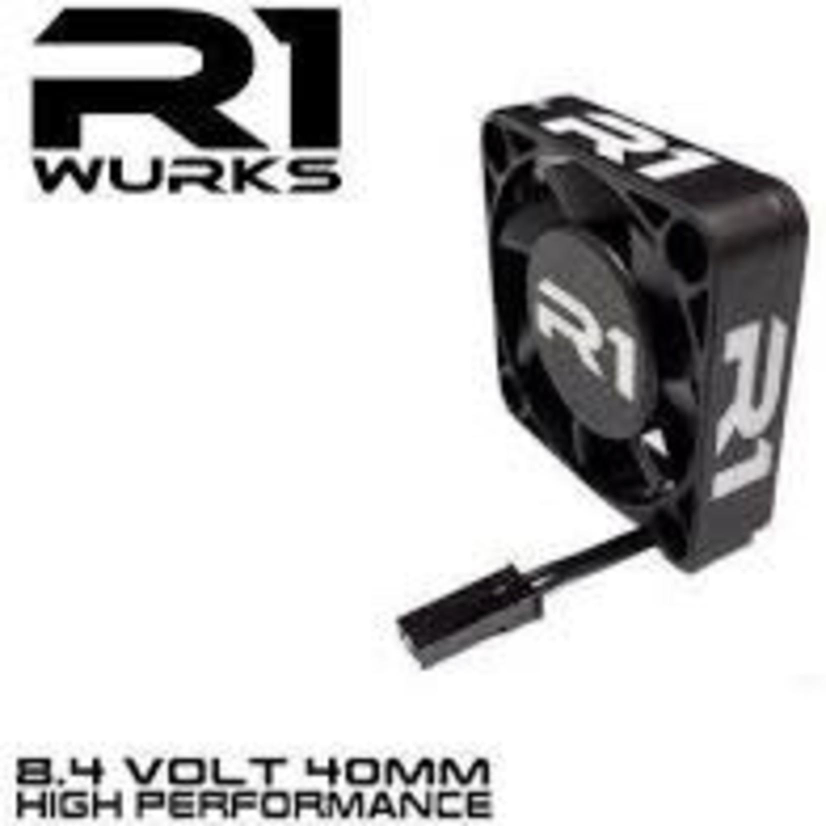 R1 Wurks R1 8.4V Premium 40mm Fan