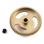 "Calandra Racing Concepts (CRC) ""Gold Standard"" 64P Aluminum Pinion Gear (60T)"