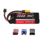 Venom DRIVE 35C 2S 2000mAh 7.4V LiPo Battery with UNI 2.0 Plug
