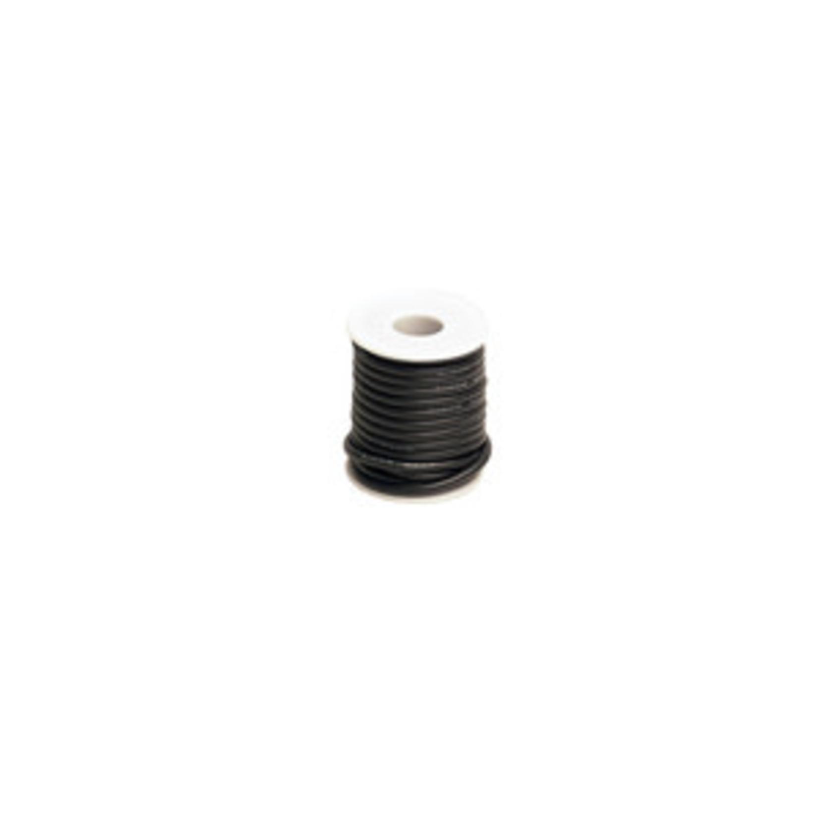 Racers Edge 12 Gauge Silicone Ultra-Flex Wire; 1 Feet (Black)