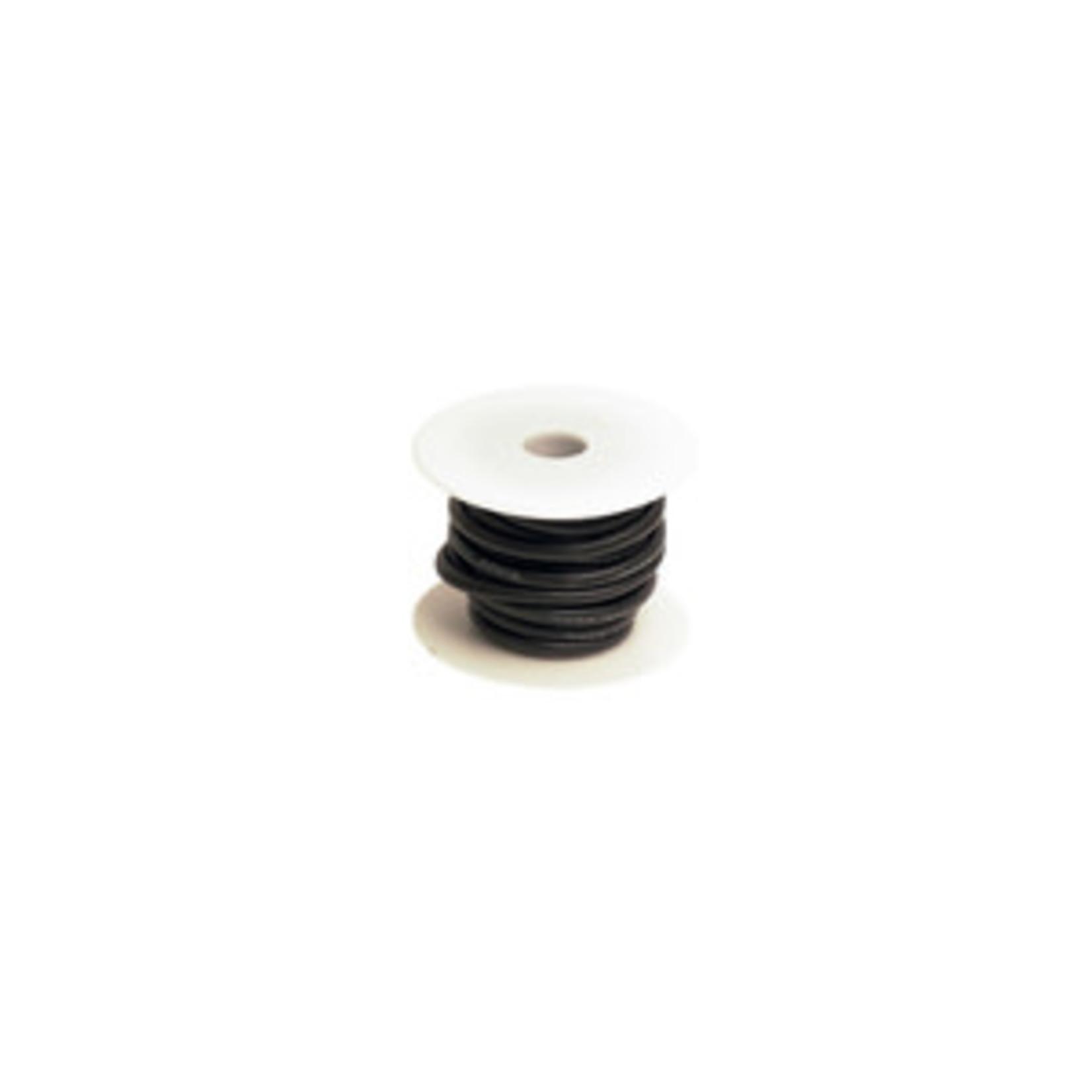 Racers Edge 10 Gauge Silicone Ultra-Flex Wire; 1 Feet (Black)