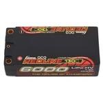 Gens Ace Redline 2S 130C LiHV Shorty Battery Pack w/5mm Bullets (7.6V/6000mAh)