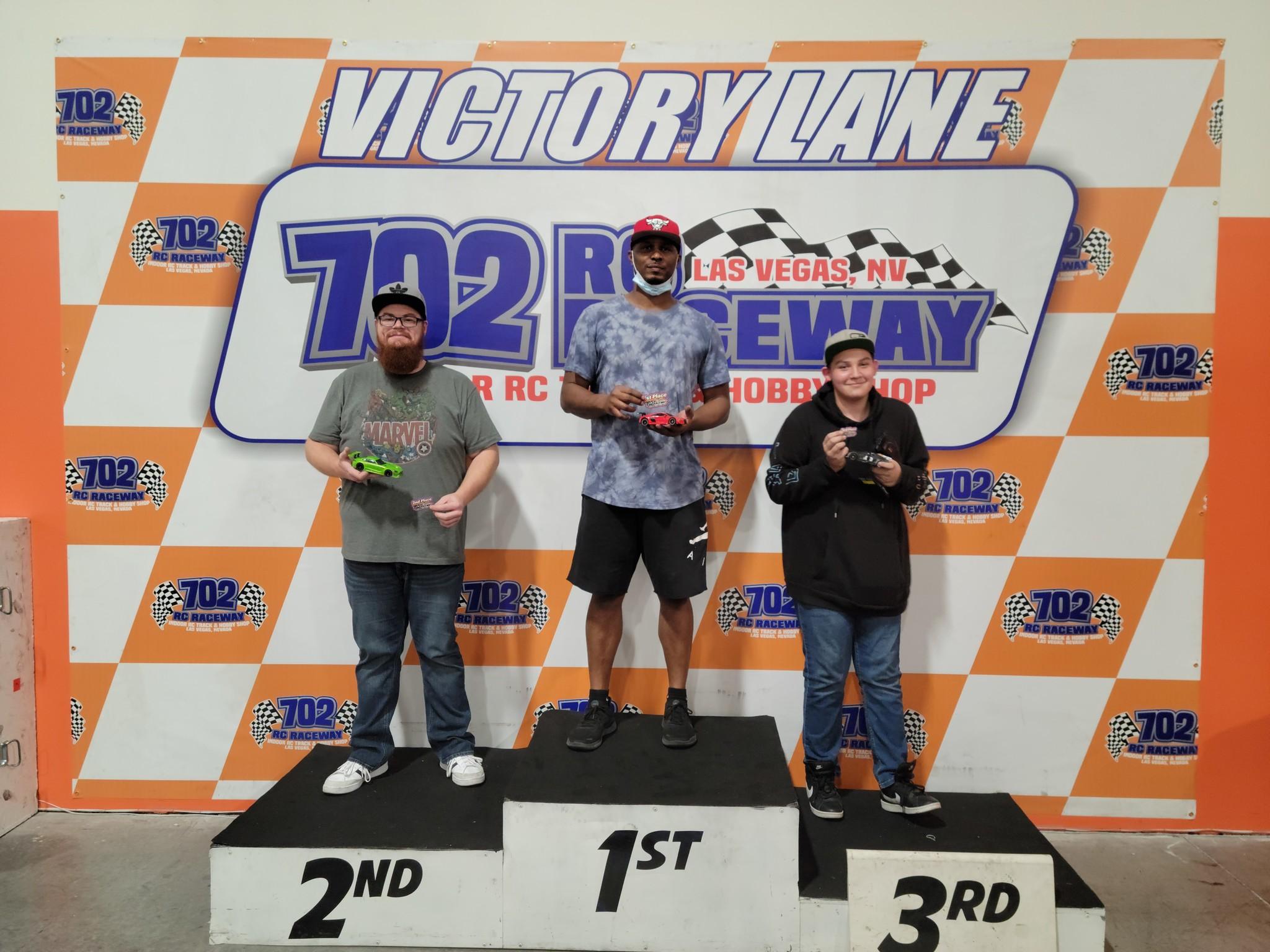 Las Vegas Nights Mini Z - Oct 9, 21 - Race Results