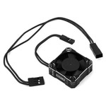 Whitz Racing Products 30mm HyperCool Aluminum Cooling Fan (Black/Silver)