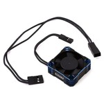 Whitz Racing Products 30mm HyperCool Aluminum Cooling Fan (Black/Blue)