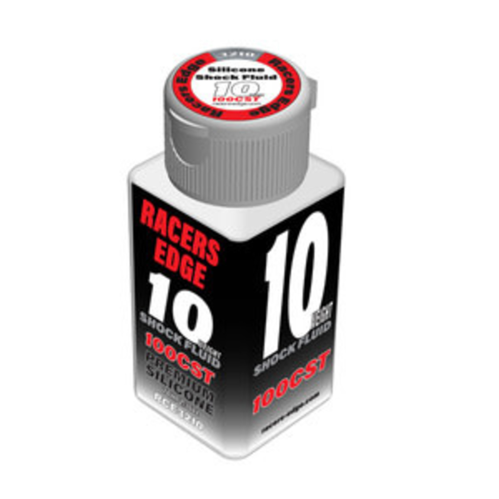 Racers Edge 10 Weight, 100cSt, 70ml 2.36oz Pure Silicone Shock Oil