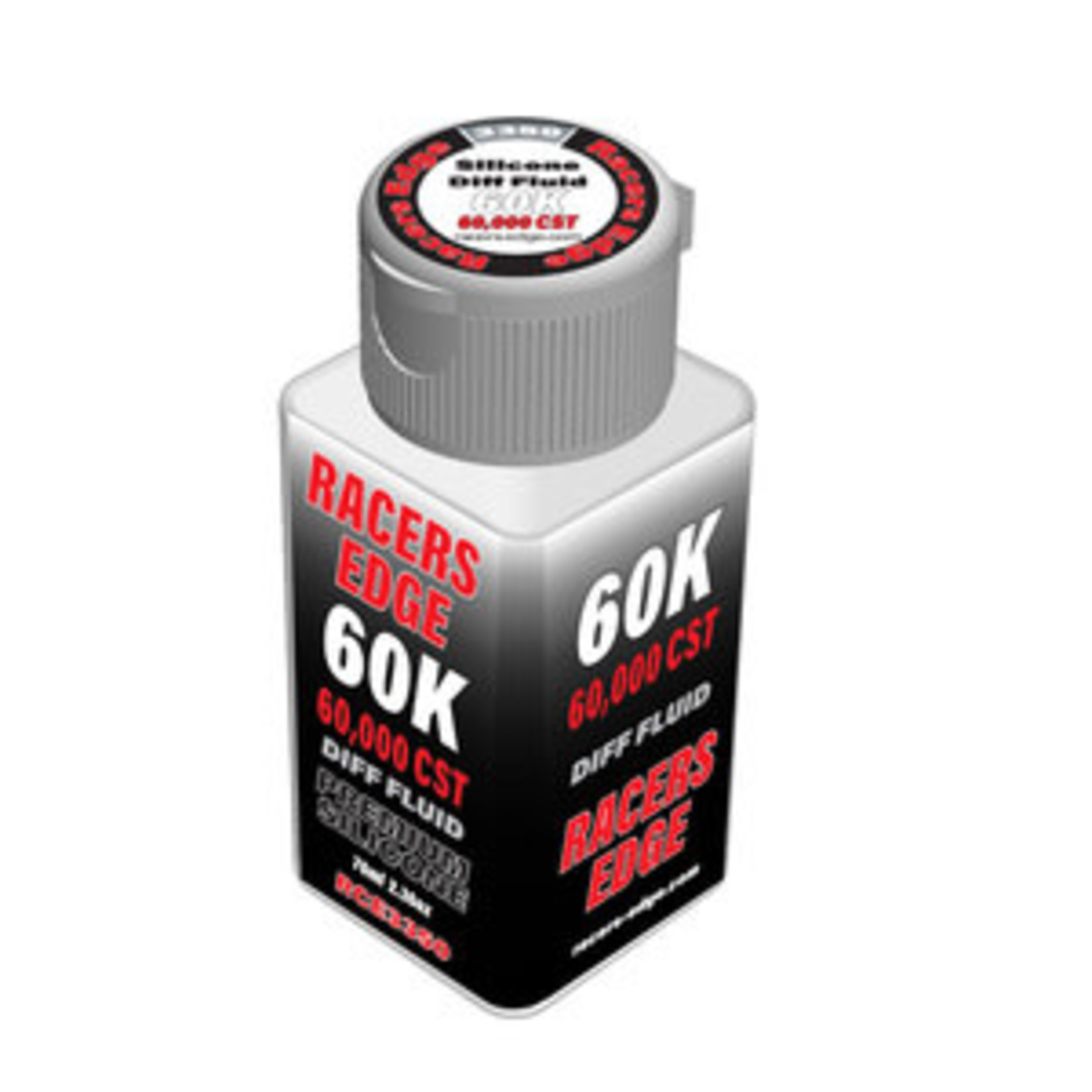 Racers Edge 60,000cSt 70ml 2.36oz Pure Silicone Diff Fluid