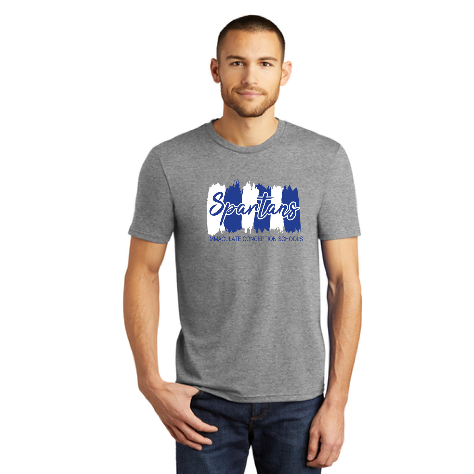District Adult Triblend Tee