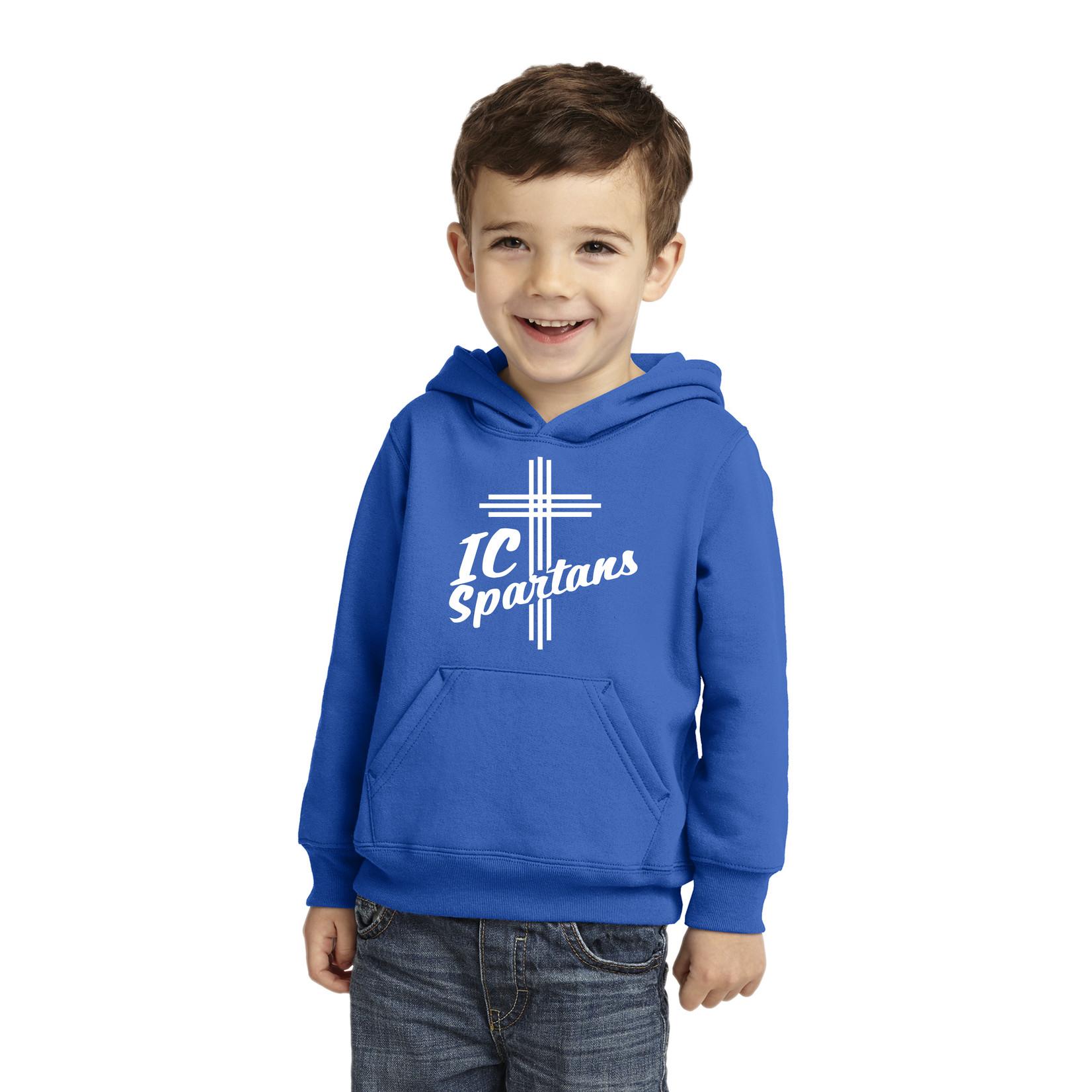 Port & Company TODDLER Hooded Sweatshirt Royal