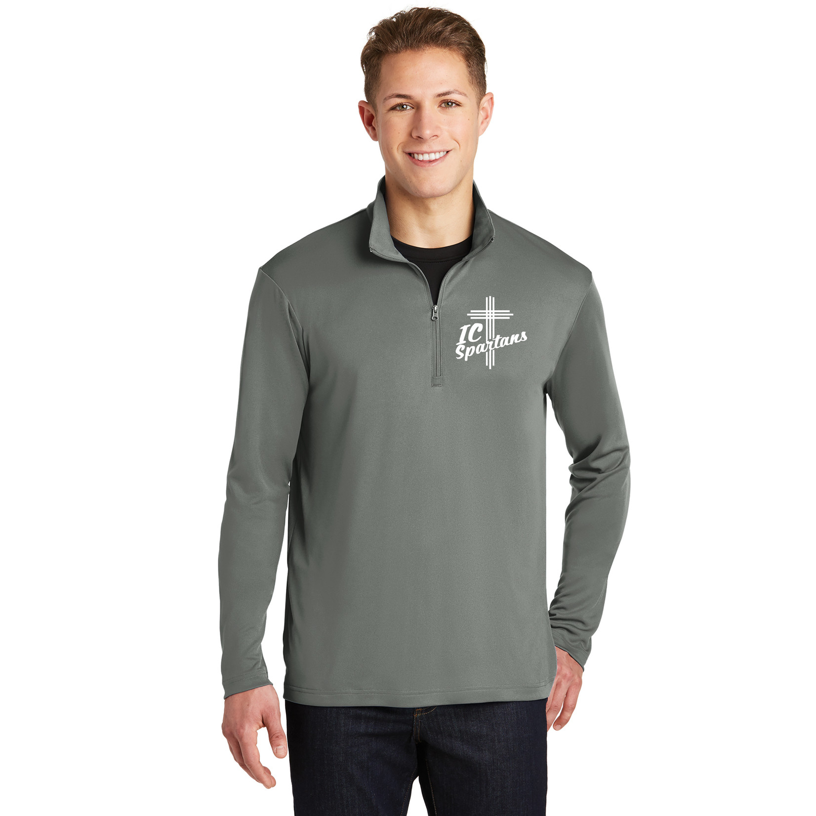Sport-Tek Adult Lightweight 1/4 Zip Pullover
