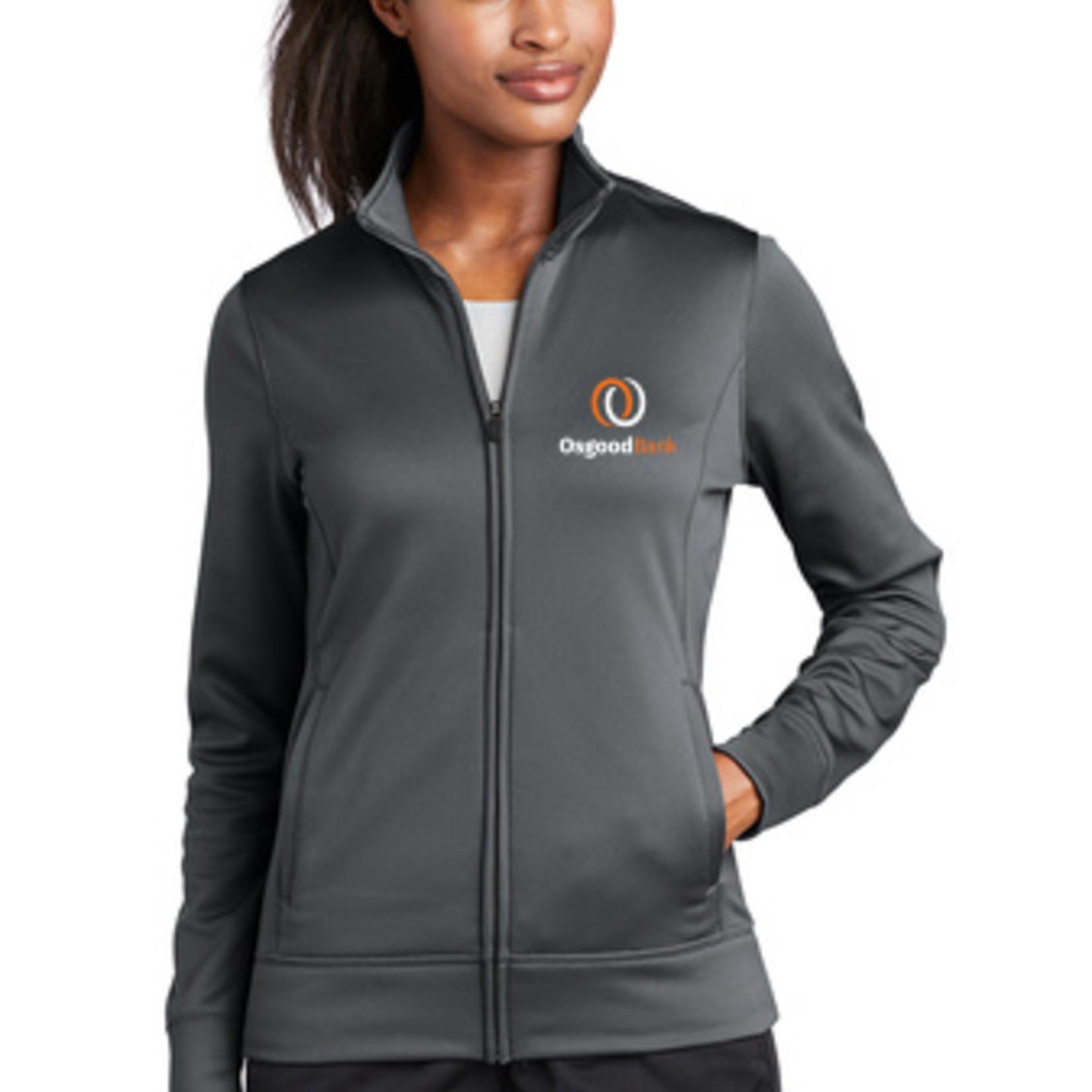 Port Authority Ladies Sport-Wick Fleece Full Zip Jacket LST241