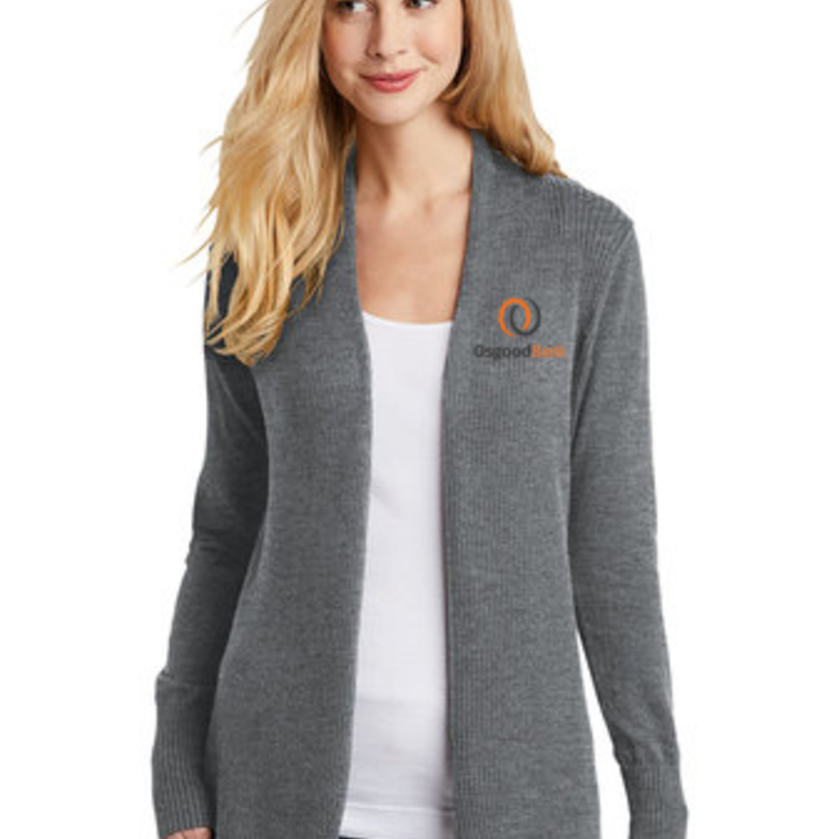 Port Authority Ladies Open Front Cardigan Sweater LSW289