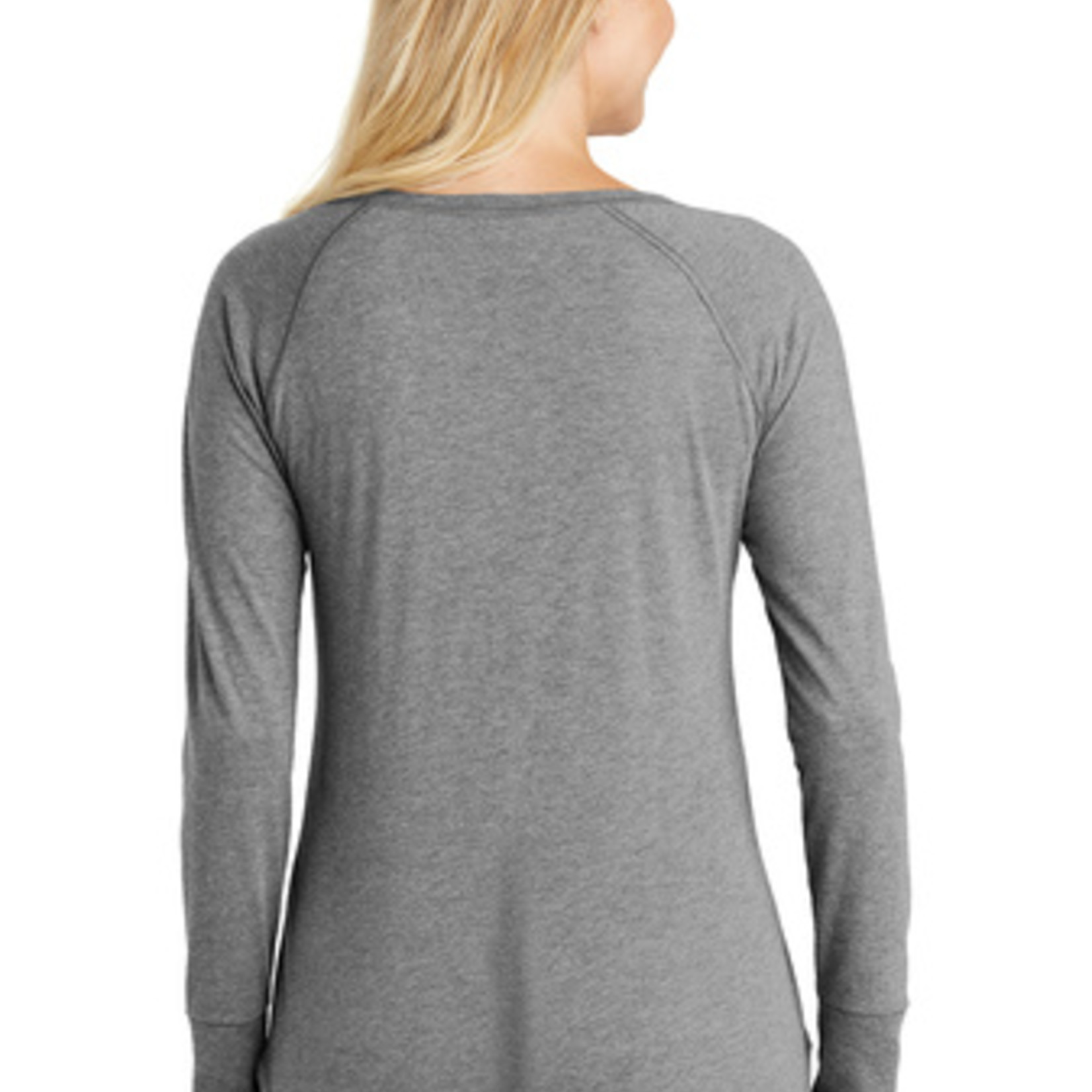 District Ladies Perfect Tri Long Sleeve Tunic DT132L
