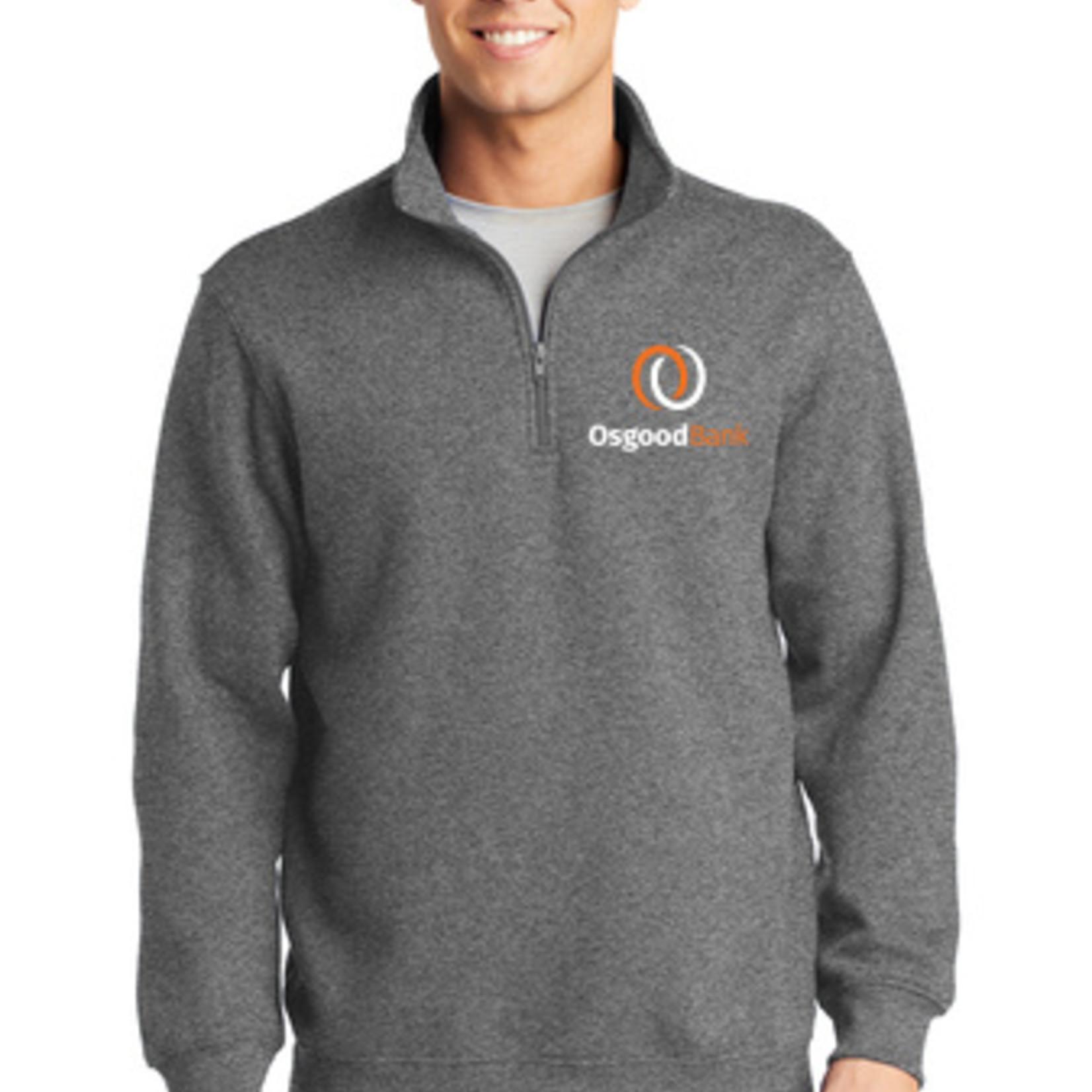 Sport Tek 1/4 Zip Sweatshirt ST253