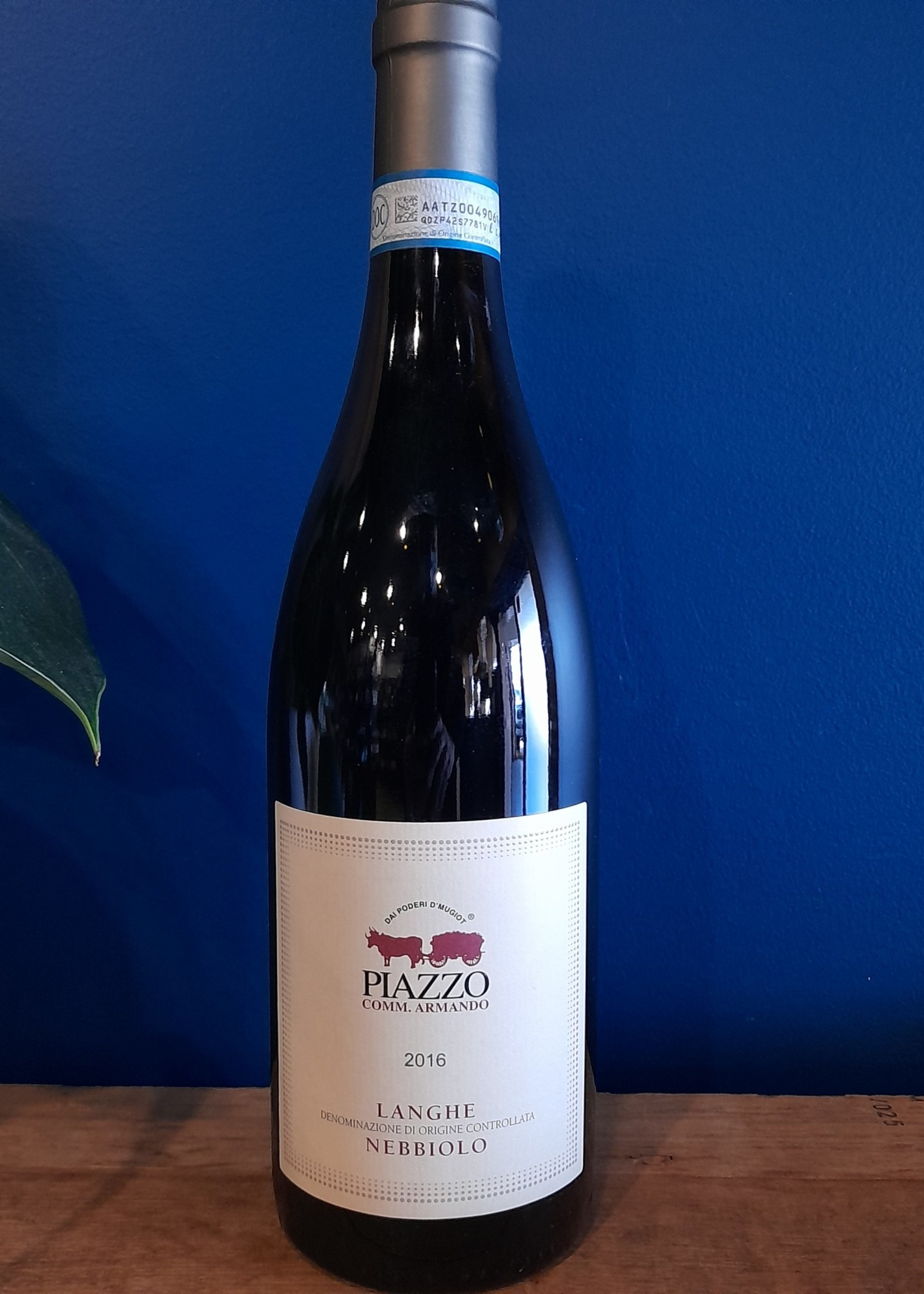 piazzo Piazzo Langhe Nebbiolo 2016