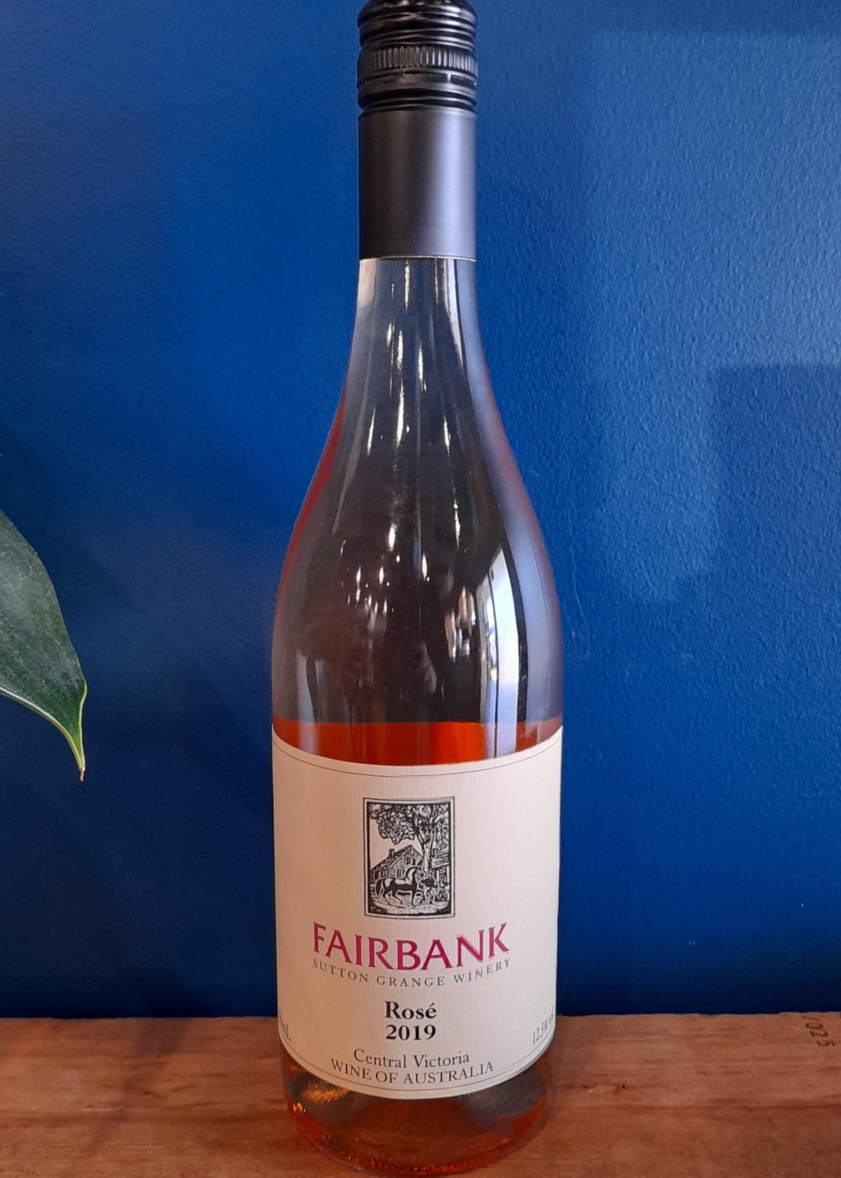 Sutton Grange Winery Fairbank Rose 2019