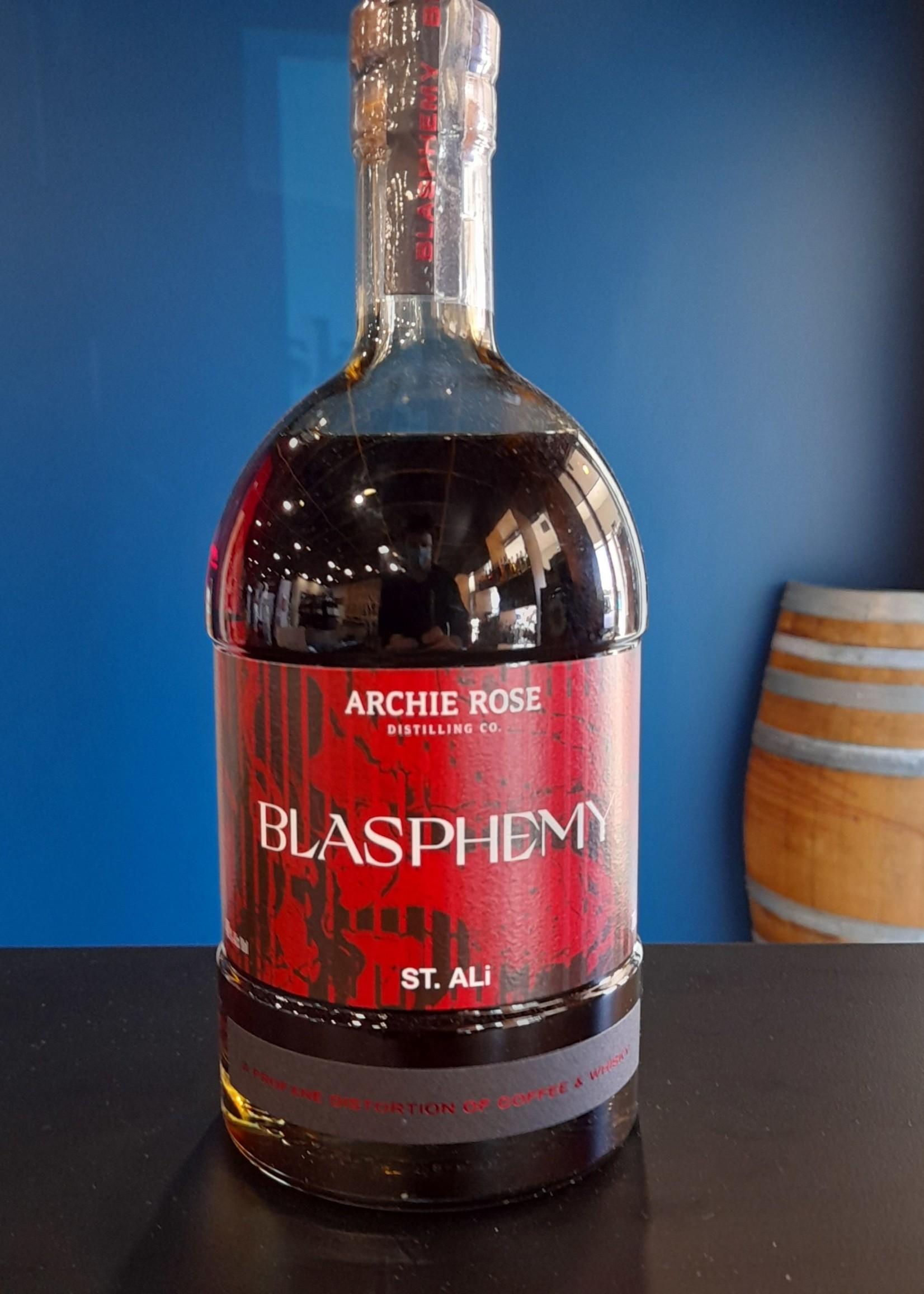 Archie Rose Archie Rose x St. Ali-Blasphemy Whiskey
